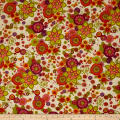 Spice Garden Large Tossed Floral Cream