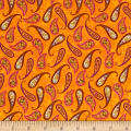 Spice Garden Paisley Orange