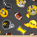 Collegiate Fleece University of Iowa Emojis