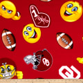 Collegiate Fleece University of Oklahoma Emojis
