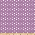 Bolt By Girl Charlee Modern Reflection Jersey Knit Dot Orchid