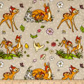 Disney Flannel Bambi Taupe
