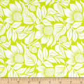 Modern Mixers III Large Floral Lime
