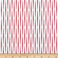 Modern Mixers III Dotty Stripe Red