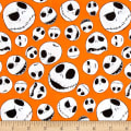 The Nightmare Before Christmas Jack Faces Orange