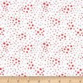 Storybook Americana Stars White/Red