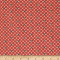 Windham Threads of Time Lattice Dot Red