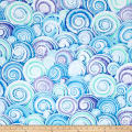 Philip Jacobs Spiral Shells Skyblue