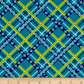 Peaceful Gathering Plaid Teal