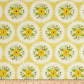 Bright Side Doily Light Yellow