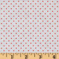 Riley Blake Swiss Dot Coral