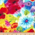 Timeless Treasures Ambrosia Mixed Floral Multi