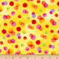 Timeless Treasures Ambrosia Dots Yellow