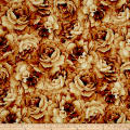 Belleflower Large Tonal Floral Orange