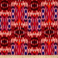 Tango Digital Print Abstract Ikat Sunset