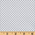 Avalana Jersey Knit Dots White