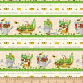 From the Garden Repeating Stripe Multi