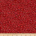Kanvas Love American Style Ditsy Dots Red