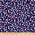 Kanvas Love American Style Patriotic Dot Navy