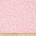 Kanvas Funny Bunnies Dotted Ditsy Pink