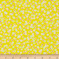 Kanvas Funny Bunnies Dotted Ditsy Yellow