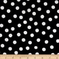 Loralie Designs Fast Women Jumbo Dots Black White