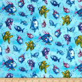 The Rainbow Fish Glitter Fish Aqua