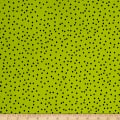 Loralie Designs Dog Happy! Dinky Dots Lime