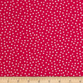 Kaufman Remix Mini Dots Hot Pink
