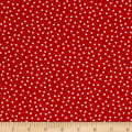 Kaufman Remix Mini Dots Poppy