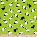 Kaufman Urban Zoology Minis Sheep Green