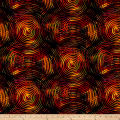 "Circle Play 108"" Wide Back Ombred Circle Geometric Autumn"
