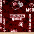 Collegiate Fleece Mississippi State Digital