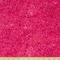 "QT Fabrics 108"" Wide Quilt Back Ombre Scroll Hot Pink"