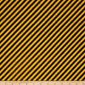 Full Steam Ahead Diagonal Stripe Black/Gold