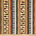 Encore Instruments Piano Keys & Guitar Stripe Cream