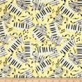 Encore Piano Keys & Notes Light Butterscotch