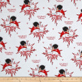 QT Fabrics Kick Heart Disease Superlady White
