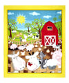 "QT Fabrics Animal Farm 35"" Panel Multi"
