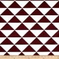 Premier Prints Large Dimensions Maroon/White