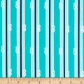 Kaufman Seaside Treasures Stripe Pacific