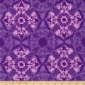 Kaufman Jasmine by Valori Wells Medallions Grape