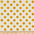 Kaufman Garden Splendor Dots Yellow
