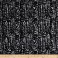 Kaufman Cotton Boucle Prints Mottle Charcoal