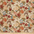 Vern Yip 03373 Linen Blend Floral Spice
