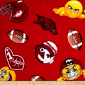 Collegiate Fleece University of Arkansas Emojis