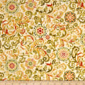 Harvest Gathering Paisley Cream