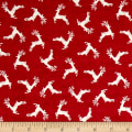 Scandi 4 Deer Scatter Red