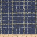 Art Gallery Mad Plaid Deep Sea Plaid