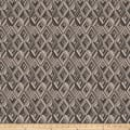 Fabricut Diamond Trump Jacquard Charcoal